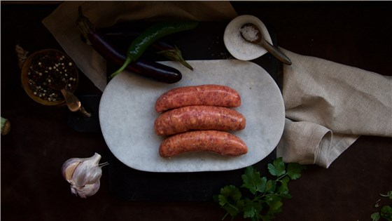 Pure Beef Sausage - Thick - 4 pack