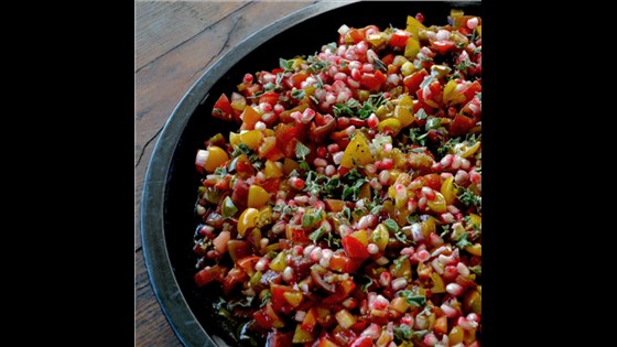 SALAD- Tomato & Pomegranate (Serves 5-6)
