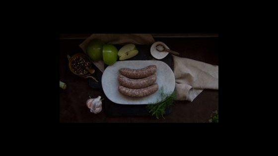 Classic Pork Sausage- Thick -  4 Pack