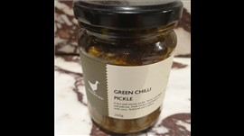 Essential Ingredient Green Chilli Pickle