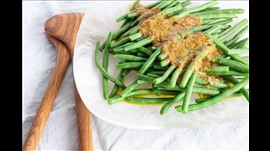 Steamed French Beans w/Cafe De Paris Butter Large