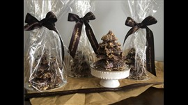 Toasted Coconut Milk Chocolate Christmas Tree
