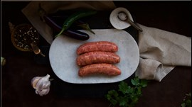 Pure Beef Sausage - Thick ( 4 pack )