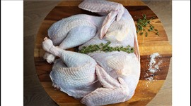 Buttered, Stuffed & Trussed Free Range Turkeys 6-7KG Feeds 14+