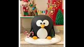 Cake - Penguin Large